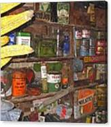 Mercantile Shop Canvas Print