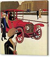 Mercedes Ad, C1914 Canvas Print