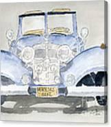Mercedes Benz Canvas Print