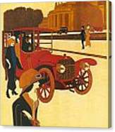 Mercedes Daimler Canvas Print