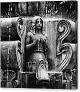 Mermaid Fountain Canvas Print