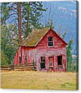Merritt Farmhouse Canvas Print