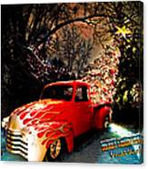 Merry Christmas From Vivachas Canvas Print
