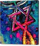 Messianic Colors Canvas Print