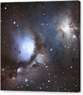 Messier 78, Also Known As Ngc 2068 Canvas Print