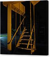 Metal Staircase Canvas Print