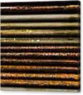 Metal Stripe  Canvas Print