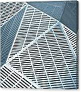 Metallic Frames Canvas Print