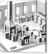 Metalworker, 18th Century Canvas Print