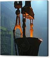 Metalworks Foundry Equipment Canvas Print