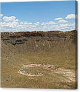 Meteor Crater Canvas Print