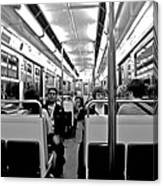 Metro Ride Canvas Print