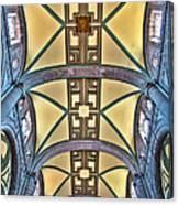 Metropolitan Cathedral Ceiling Canvas Print