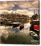 Mevagissy Harbour Canvas Print