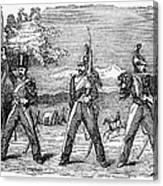 Mexican American War, 1846 Canvas Print