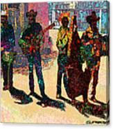 Mexican Conjunto II Canvas Print