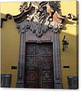 Mexican Door 28 Canvas Print