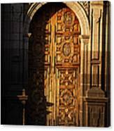 Mexican Door 31 Canvas Print
