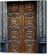 Mexican Door 4 Canvas Print