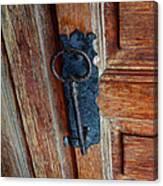 Mexican Door Decor 3  Canvas Print