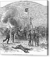 Mexican War: Vera Cruz Canvas Print