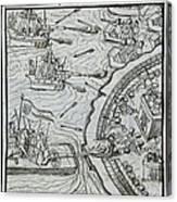Mexico - Spanish Conquest Canvas Print