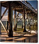 Mexico Beach Pier Canvas Print