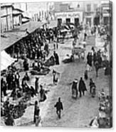 Mexico City - C 1901 Canvas Print