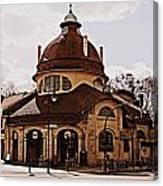 Mexikoplatz Train Station Canvas Print