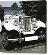 Mg Classic Car Canvas Print