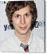 Michael Cera At Arrivals For Youth In Canvas Print