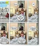 Michelle's Crisis  Canvas Print