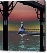 Michigan City Lighthouse 2 Canvas Print