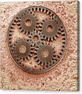 Microcogs Canvas Print