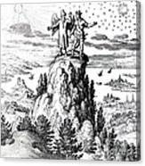 Microcosm, Macrocosm, 17th Century Canvas Print
