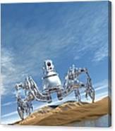 Microrobot, Conceptual Artwork Canvas Print