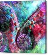 Microscope Dreaming 3 Canvas Print