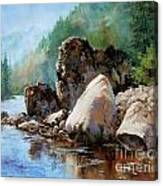 Middle Fork Salmon River Canvas Print
