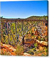 Midgley Bridge Sedona Arizona Canvas Print