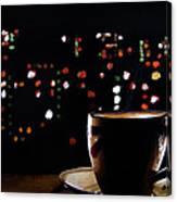 Midnight Brew Canvas Print