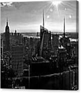Midtown South Bw Canvas Print