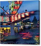 Midway Blur Canvas Print