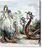 Midwest Copperheads, 1863 Canvas Print