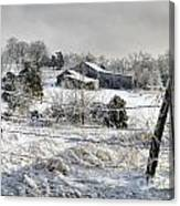 Midwestern Ice Storm - D004825 Canvas Print