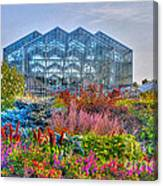 Miejer Gardens Revisited Canvas Print