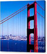 Mighty Golden Gate Canvas Print