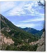 Mighty Mountain I Canvas Print
