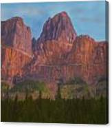 Mighty Mountains Canvas Print