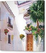 Mijas Spain Canvas Print