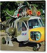 Mil Mi-2 Hoplite Canvas Print